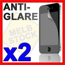 2 x Anti Glare LCD Screen Protector Matte Film Guard for Apple iPhone 4S 4G 4 S