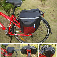 Cycling Bike Bicycle Rear Rack Seat Pannier Bag 100% Waterproof 600D AU Seller