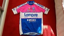 Mens SMS Santini Lampre Team short sleeve cycling jersey. SIZE XL. Selle Italia