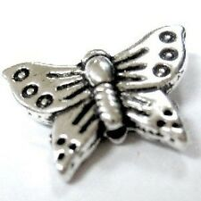 20 pieces Tibetan Silver Alloy 15x12mm Butterfly Alloy Beads - A0642
