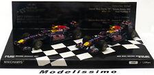 1:43 Minichamps Red Bull RB7 World Champion Set Vettel/Webber 2011