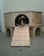 2 STOREY CORNER PLAY TUNNEL/SHELTER FOR GUINEA PIG/SMALL RABBIT