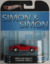 "Hot Wheels - ´85 / 1985 Chevy Camaro IROC-Z rot ""Simon & Simon"" Neu/OVP"