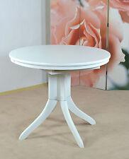 Tisch Ausziehbar Rund Esstisch Küchentisch Esszimmertisch Wohnzimmertisch