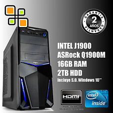 Ordinateur PC Intel Quad Core 9.6 GHz + 16GB RAM + 2TB HDD