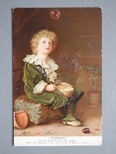 R&L Vintage Postcard: Pear's Soap Advertisement, Unposted, J Millais