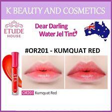 [Etude House] Dear Darling Water Gel Tint (#OR201 KUMQUAT RED) *NEW 2016* 4.5g