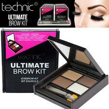 Technic Ultimate Brow Kit Set Augenbraue Makeup Pulver - Wax - Bürste - Tweezers