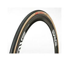 Clement Strada LGG Road Bike Tyre Folding 700 x 25 - 60tpi - Tan / Black