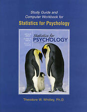 Study Guide and Computer Workbook for Statistics for Psychology by Arthur Aron …