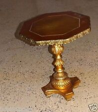 13612/ Vintage Mid Century Italian Parcel Gilt Side Table