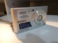Sony Cyber-shot DSC-W510 12.1MP Digital Camera - Silver - edc