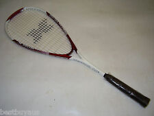 NEW!!! WAREHOUSE CLEARANCE POLYCARBONALLOY SQUASH RACQUET & COVER