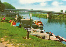 OLD POSTCARD  - Worcestershire - The Bridge, Upton upon Severn - Posted 1980