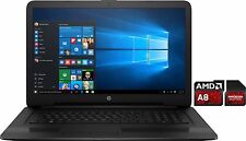 "HP Gamer Notebook ~ 17.3"" ~ AMD A8-7410 ~ 8GB RAM ~ 128GB SSD ~ DVD - Windows 10"