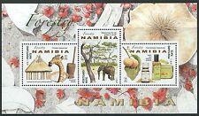 Namibia - Forstwirtschaft Block postfrisch 2016