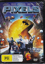 Pixels - DVD (Brand New Sealed) Regions 2,4 & 5
