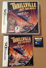 Thrillville Off The Rails Game For Ds Dsi Ds Lite 3Ds Nintendo Tested!