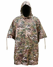 New Btp Camo Waterproof Hooded Ripstop US Army Poncho