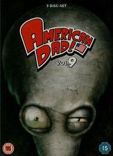 AMERICAN DAD Season 9 (3-DVD Set) *New & SEALED* Region 2