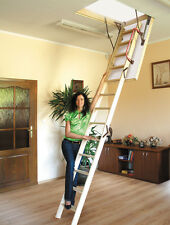 Lyte Easiloft Timber/Wooden Folding Loft Ladder & Hatch