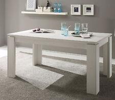 Esstisch Holztisch Esszimmertisch weiß Pinie ausziehbar 90 x 160 200 Küchentisch