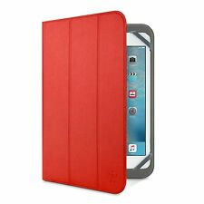"""Belkin Universal Tri-Fold Cover Case For Samsung Galaxy Tab 4/3/2/1 10.1"""" Red"""