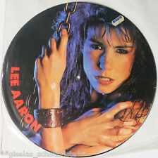 """** Lee Aaron - Barely Holdin' On / Picture Disc 12"""" NL 1985 RAR Limited **"""