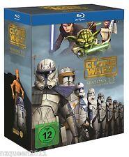 Star Wars: The Clone Wars - Komplettbox Staffel 1-5 [Blu-ray] * NEU & OVP *