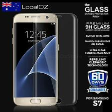 3D Full Cover Tempered Glass Screen Protector Guard For Samsung Galaxy S7