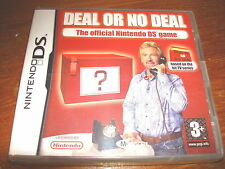 DEAL OR NO DEAL ** NEW & SEALED **  Nintendo Ds Game
