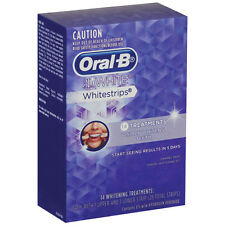 Oral B 3D White Whitestrips 14 Treatments Strips