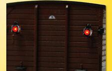 Viessmann 5069 Zugschlusslaternen mit LED, 2 Stück, H0