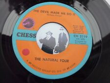 7'' The Natural Four The Devil Made Me Do It On Chess In Ex (Funk)