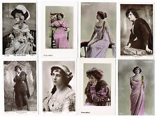 Evelyn Millard - Collection of 143 postcards of this Edwardian Theatre Actress