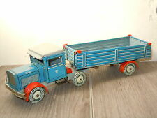"""1945-49 Produced Tippco Tipp & Co """"Truck with Trailer"""" made in Germany U.S.*6130"""