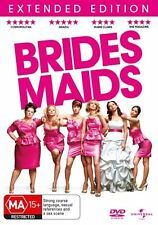 BRIDESMAIDS DVD Romantic Comedy (Extended Edition)