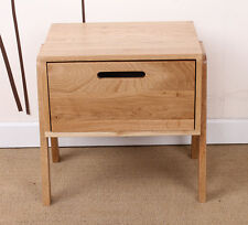 Bedside Table/Lamp Table/Chest of Drawer/Solid Oak/NO VENEER/1 Drawer