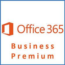 Microsoft Office 365 Business Premium - für 5 Geräte + 5 Smart. - 1 Jahr - OL