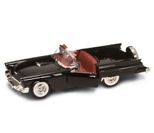 1:18 1957 Ford Thunderbird in Black Diecast Model Car By Road Signature CHEAP