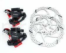 TRP HY/RD Hydraulic Road Bike Bicycle Disc Brake Set Front+Rear+160 Rotors Black