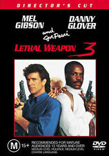 LETHAL WEAPON 3 - BRAND NEW SEALED R4 DVD (MEL GIBSON, DANNY GLOVER, JOE PESCI)