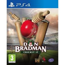 Don Bradman Cricket 2017 (PS4)  BRAND NEW AND SEALED - IN STOCK - QUICK DISPATCH