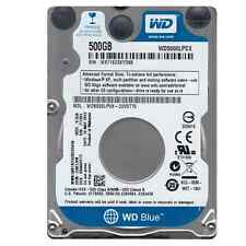 "Western Digital WD5000LPCX 500GB 2,5"" 8MB 7mm 5400RPM Festplatte intern NEU"