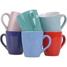 6 Kaffeebecher Kaffeetasse Keramik Kaffee Tassen Becher Teetasse Milchbecher