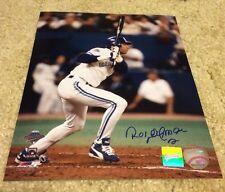 8 X 10 Roberto Alomar Blue Jays Signed Photo Auto COA-Holo Frameworth