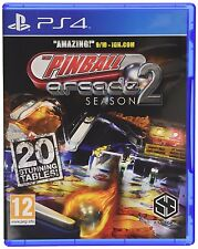 PS4 Pinball Arcade Season 2 Flipper Spiel Playstation 4 NEU