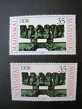 DDR MiNr. 2538 postfrisch & gestempelt (S 804)