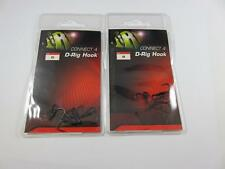 2 PACKS OF JRC CONNECT 8 D RIG SIZE 4 CARP HOOKS MICRO BARBED