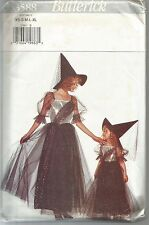 Butterick Sewing Pattern 3588, Witch or Princess Costume, Adult XS - XL, Uncut